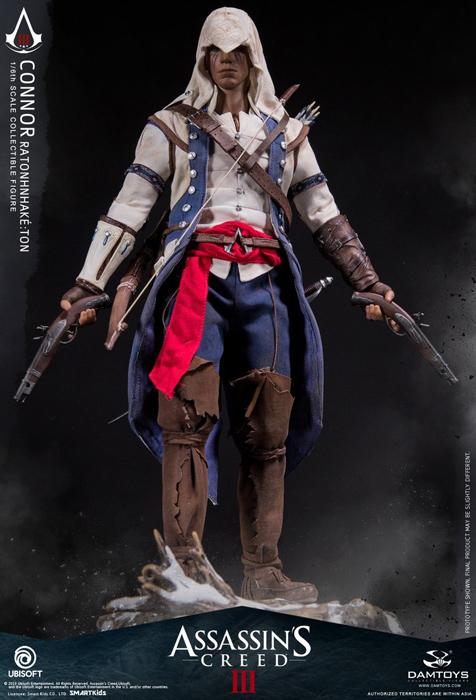 1//6 Scale Toy Assassins Creed 3 Connor Flintlock Pistol