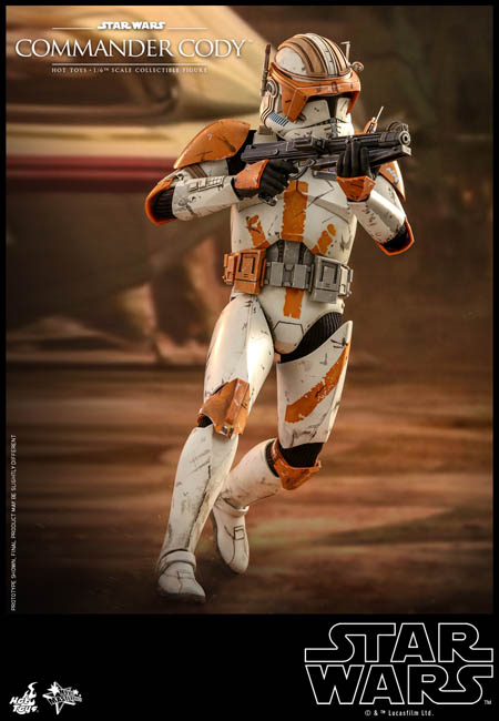 Toy Square Movie Masterpiece 1 6th 1 4th Star Wars Episode Iii Commander Cody