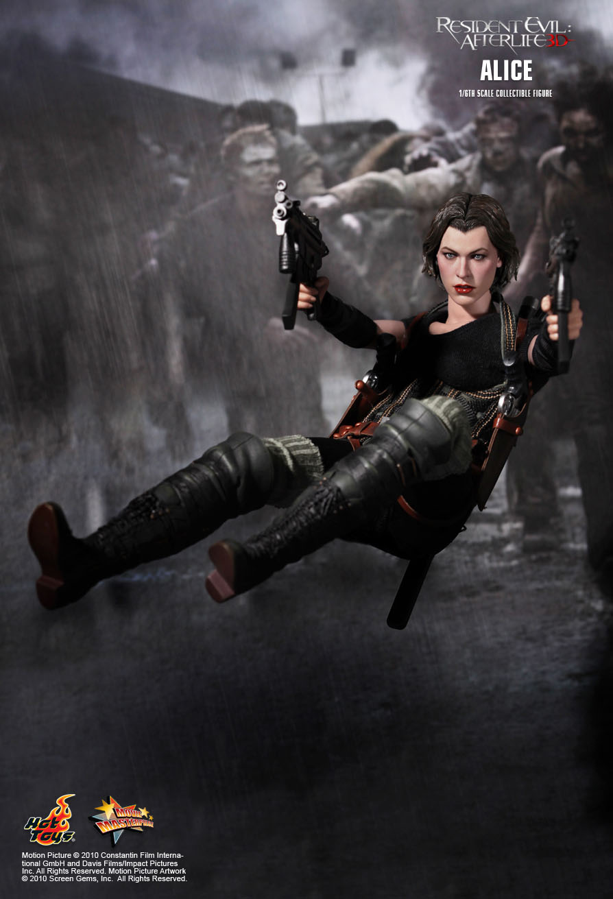 Toy Square Movie Masterpiece 1 6th 1 4th Resident Evil