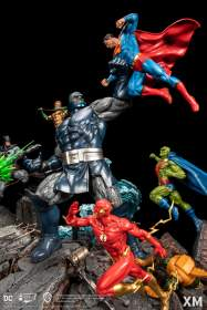 XM Studios - Justice League vs Darkseid Diorama