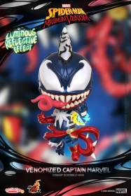 Spider-Man: Maximum Venom - Venomized Captain Marvel Cosbaby