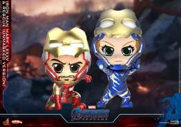 Cosbaby - Avengers: Endgame - Iron Man Mark LXXXV & Rescue (Unmasked Version) COSB667