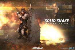 First 4 Figures - Metal Gear Solid - Solid Snake statue