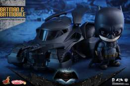 Cosbaby - Batman v Superman: Dawn of Justice - Batman and Batmobile