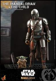The Mandalorian : 1/6th scale The Mandalorian and The Child Set