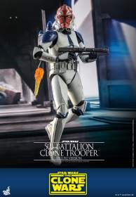 Star Wars : The Clone Wars™ - 501st Battalion Clone Trooper Deluxe Version