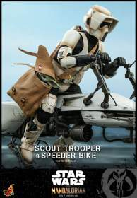 The Mandalorian : Scout Trooper and Speeder Bike Set