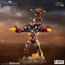 Iron Studios - Avengers: Endgame 1:10 Scale Iron Patriot & Rocket Statue