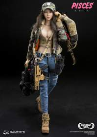 DAM Toys: Combat Girl Series - PISCES LUCY