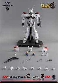 Threezero - Mobile Police Patlabor ROBO-DOU Ingram Unit 2 + Unit 3 Compatible Set