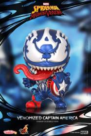 Spider-Man: Maximum Venom - Venomized Captain America Cosbaby