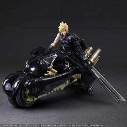 Square Enix Play Arts Kai  - Final Fantasy VII - Cloud Strife & Fenrir