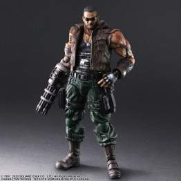 Square Enix - Final Fantasy VIIR Play Arts Kai Barrett Wallace V2