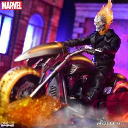 Mezco - One 12 Collective Marvel Ghost Rider & Hell Cycle