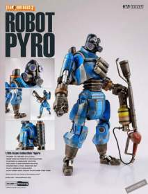 ThreeA - Team Fortress 2 Robot Pyro Blue ver