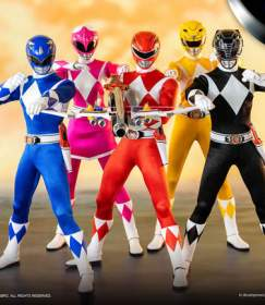 Mighty Morphin Power Rangers: Core Rangers + Green Ranger Six Pack