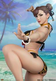 PCS Collectibles - Chun-Li: Player 2 Battle EX Season Pass Statue