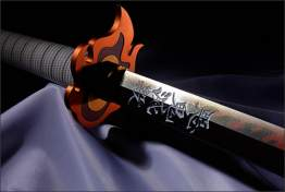 "Nichirin Sword (Kyojuro Rengoku) ""Demon Slayer"""