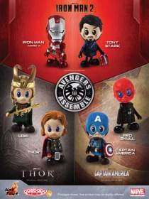 Marvel Avengers Assemble: Cosbaby (set of 6)
