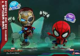 Cosbaby - Spider-Man: Far From Home - Mysterio's Iron Man Illusion & Spider-Man