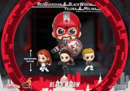 Red Guardian, Black Widow, Yelena, and Melina Cosbaby