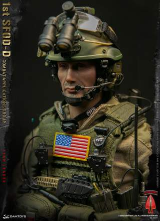 Damtoys - 1st SFOD-D Combat Applications Group Team Leader