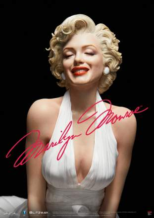 Blitzway - 1/4 Superb Scale Marilyn Monroe Statue