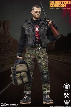 DAMTOYS GK003MX 1//6 Gangsters Kingdom SPADES J'S MEMORY-GREG Sword /& Scabbard