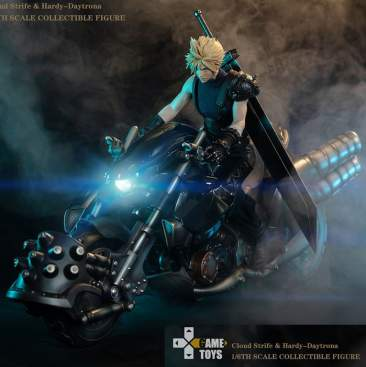 GameToys - Fantasy Warrior Cloud Strife Deluxe Edition