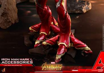 Avengers: Infinity War - 1/6th scale Iron Man Mark L Accessories set