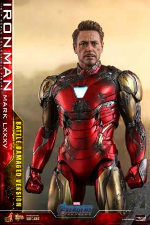 Avengers: Endgame - Iron Man Mark LXXXV (Battle Damaged Version)