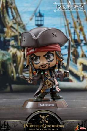 Cosbaby - Pirates of the Caribbean: Dead Men Tell No Tales - Jack Sparrow (Fighting Pose Ver)