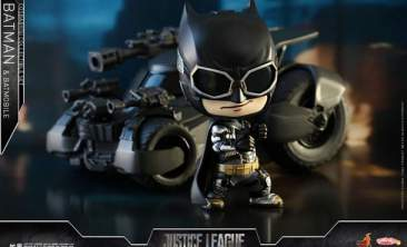 Cosbaby - Justice League - Batman & Batmobile