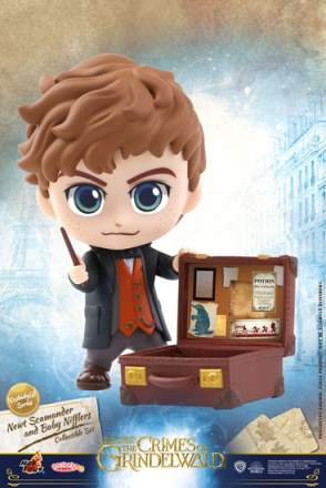 Cosbaby - Newt Scamander and Bowtruckle set (COSB516)