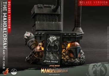 The Mandalorian: 1/4 scale The Mandalorian & The Child Set (Deluxe Version)