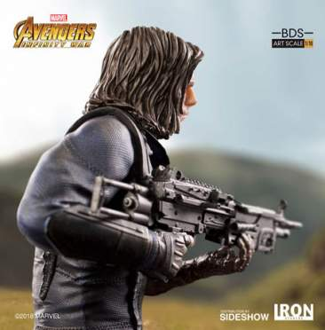 Avengers: Infinity War - Art Scale 1:10 BDS - Winter Soldier Statue