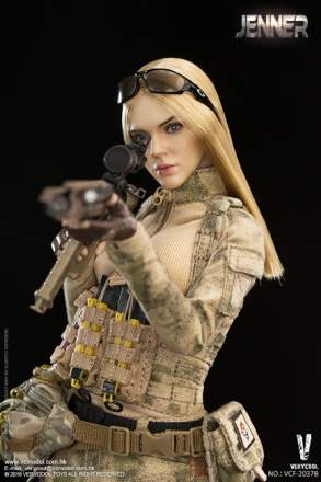 Very Cool - A-TACS FG Double Women Soldiers - Jenner (B Style)