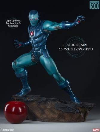 Avengers Assemble - Iron Man Stealth Suit Statue