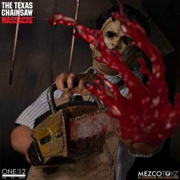 Mezco - One 12 Collective Texas Chainsaw Massacre Leatherface DLX figure