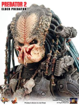 "Predator 2 - 14"" ELDER PREDATOR model kit"