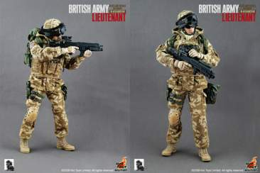 BRITISH ARMY-BLUES AND ROYALS REGIMENT IN AFGHANISTAN-LIEUTENANT