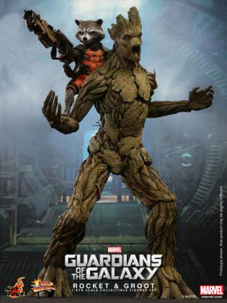 Guardians of the Galaxy: 1/6th scale Rocket & Groot