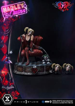 Harley Quinn 1/3 Scale Statue (Deluxe version)