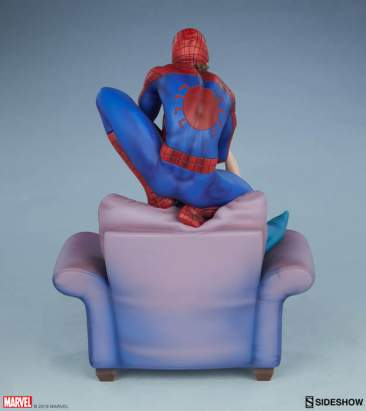 Spider-Man and Mary Jane Maquette